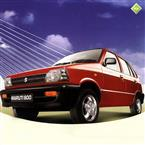 Maruti 800 'Red' image