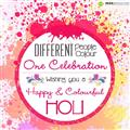 Holi Greetings - One Celebration image