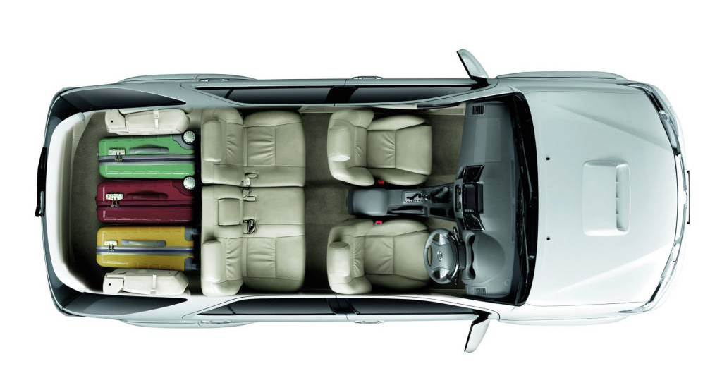 2012 Toyota New Fortuner Boot Space