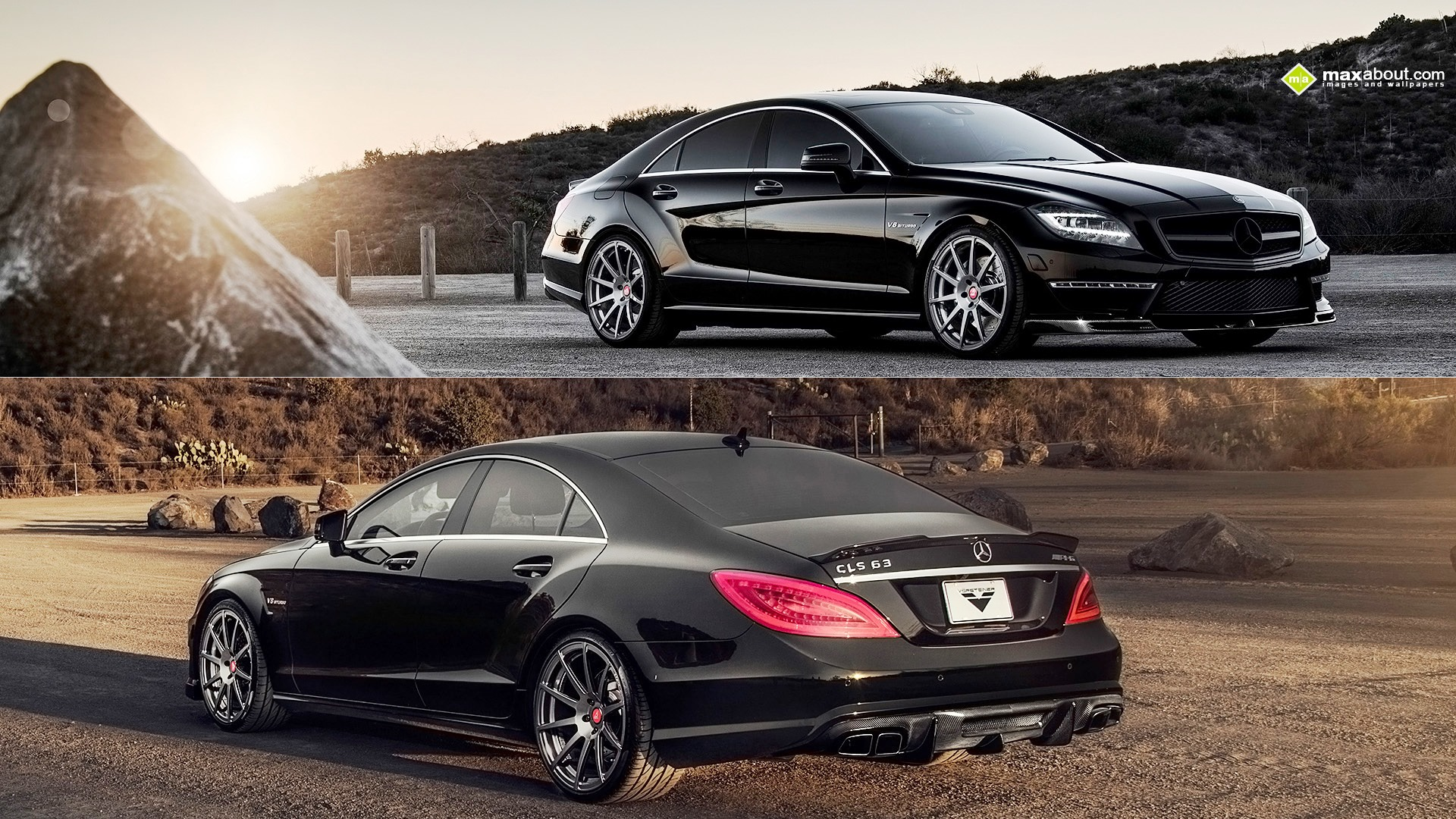 vorsteiner mercedes benz cls 63 amg wallpaper 1055567. Black Bedroom Furniture Sets. Home Design Ideas