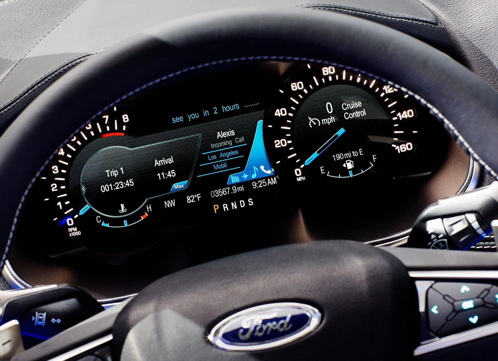 Ford Edge Concept Instrument Cluster