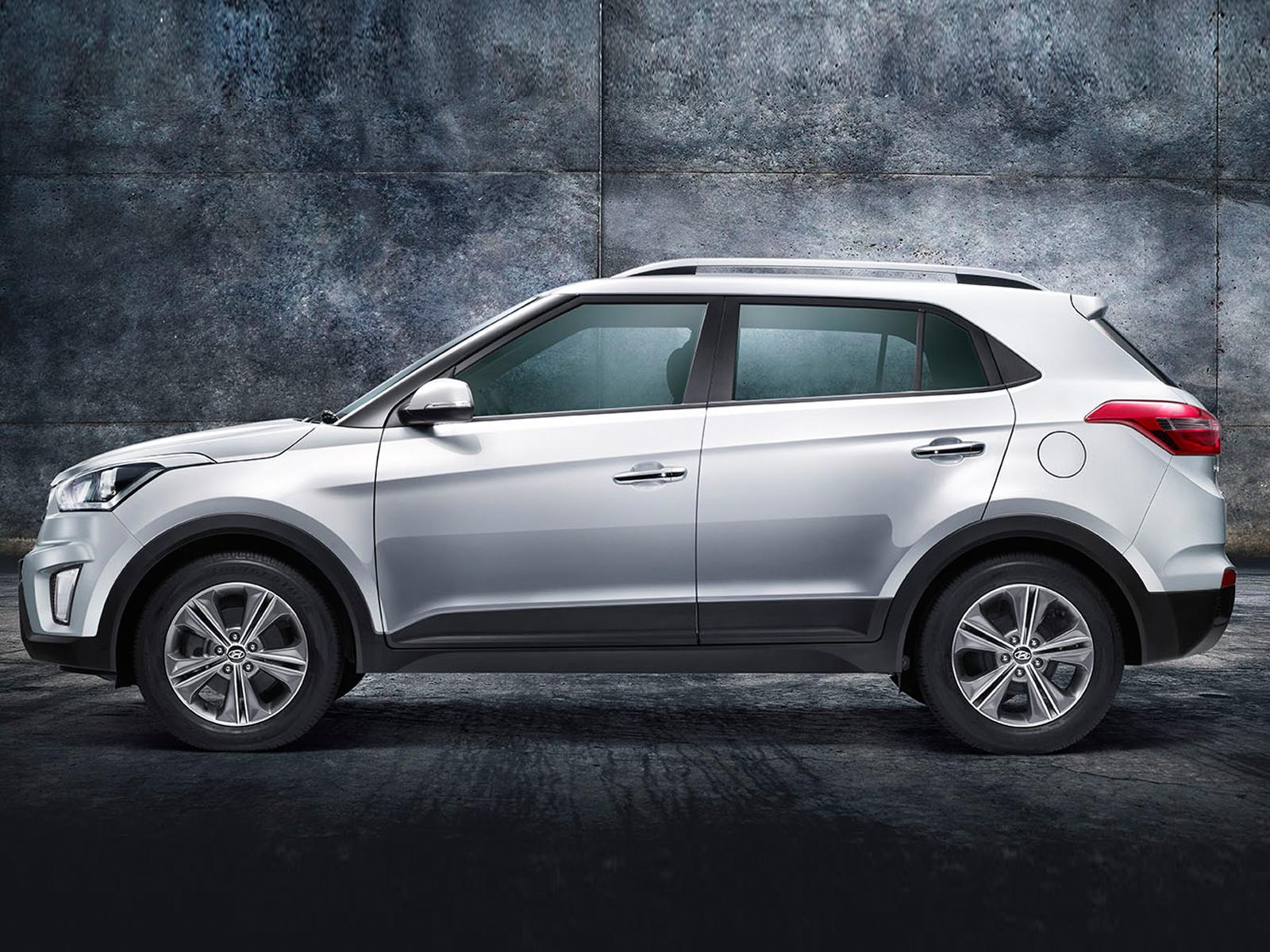 Hyundai Creta Suv Side View