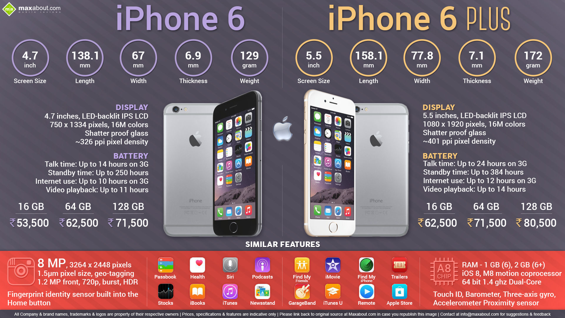 All You Need to Know about Apple iPhone 6 & iPhone 6 Plus