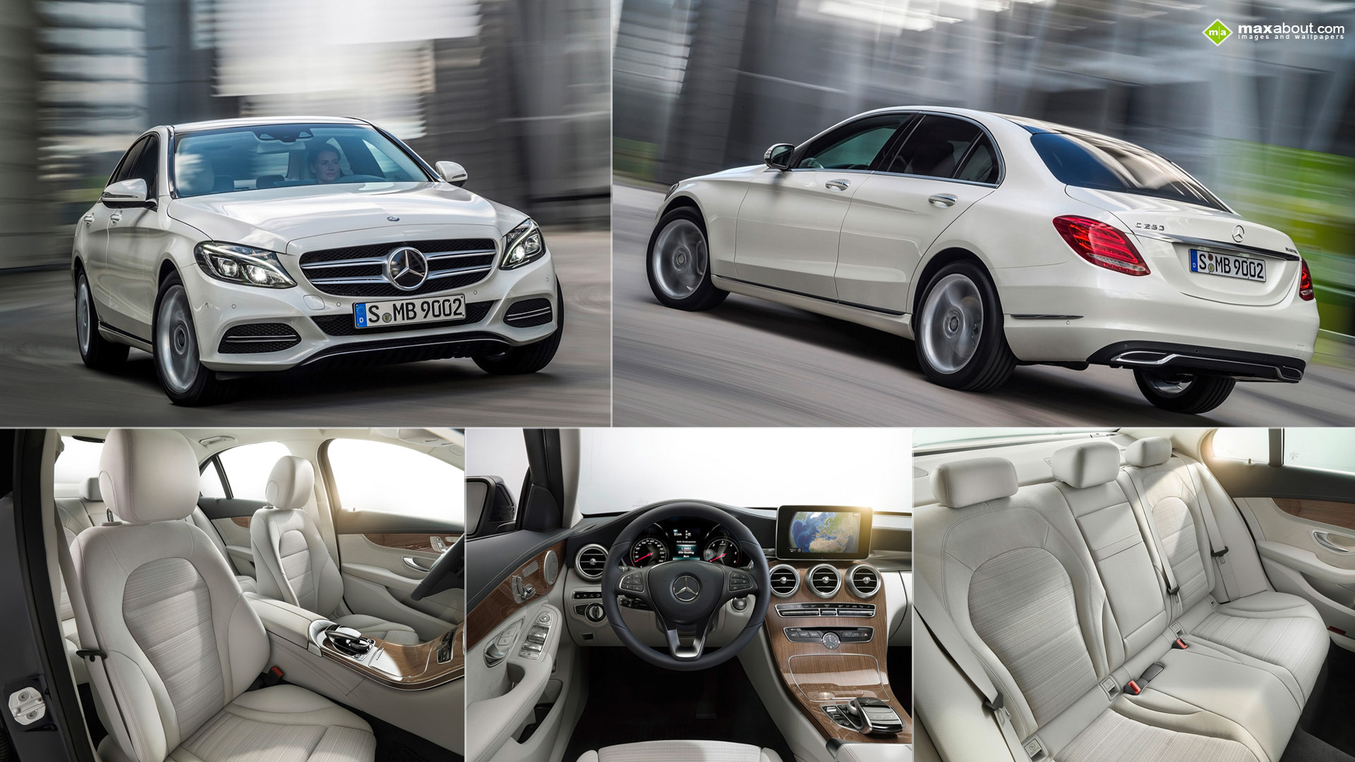 2014 mercedes benz c class wallpaper. Black Bedroom Furniture Sets. Home Design Ideas
